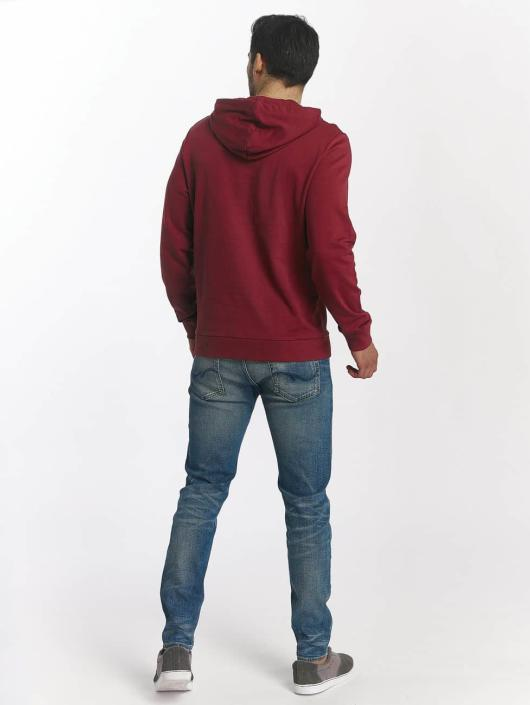 Jack & Jones Hoodie jorSlack red