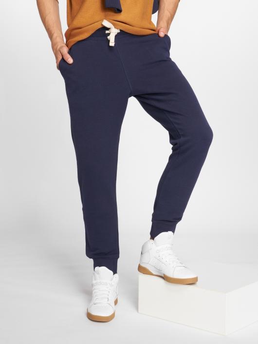 Jack & Jones Jogging kalhoty jjePique modrý