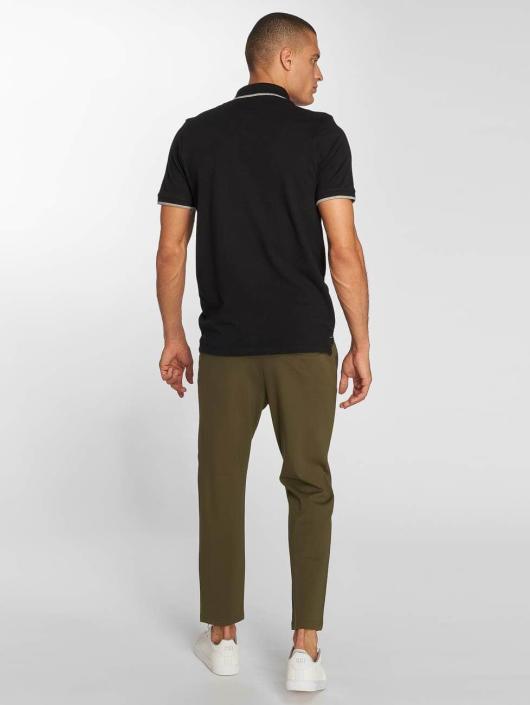 Jack & Jones Koszulki Polo jjePaulos czarny