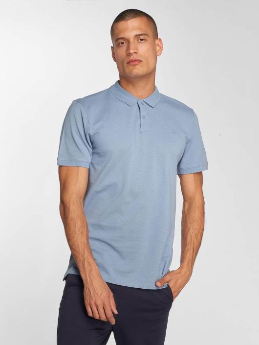 Jack & Jones Koszulki Polo jjeBasic niebieski