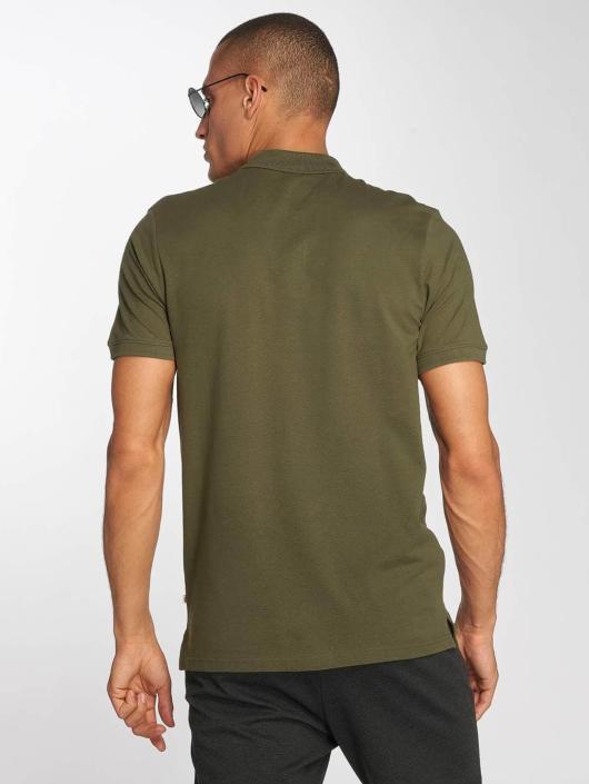 Jack & Jones Koszulki Polo jjeBasic zielony