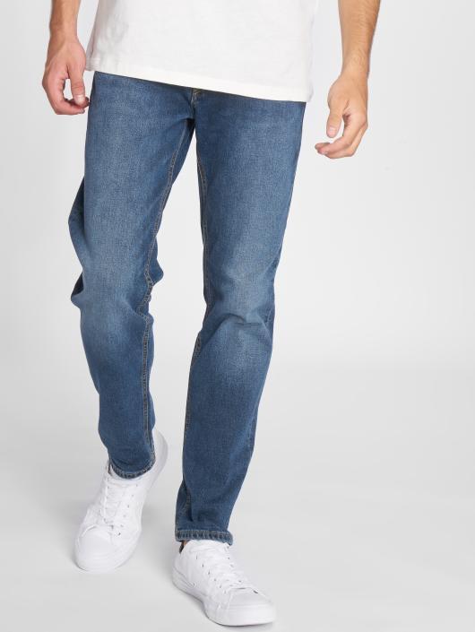Jack & Jones Loose Fit Jeans jjiMike jjOriginal modrý