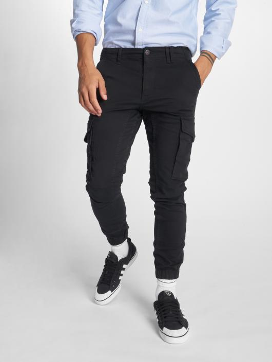 90b5fc764a023 Jack & Jones Jjipaul Jjflake Akm 542 Black Noos Slim Fit Jeans Black