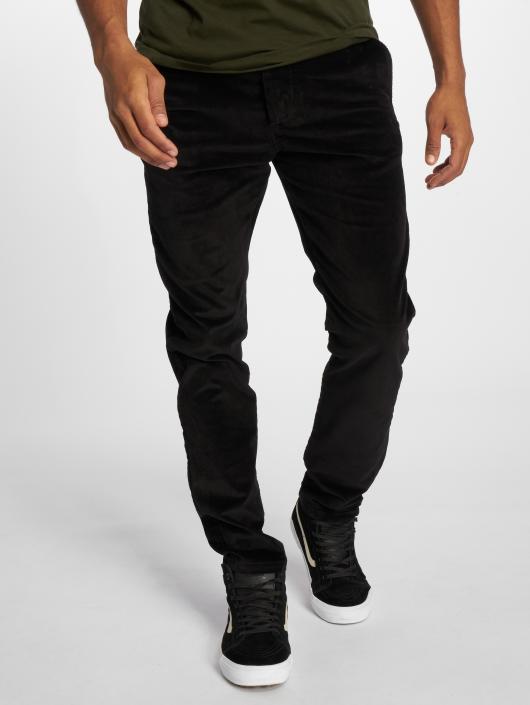 16c85d66576 ... Jack   Jones Pantalon chino Jjimarco Jjcorduroy Akm 594 Black Ltd ...