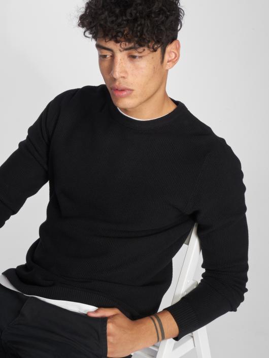 Jack & Jones Pullover jjeStructure Knit black