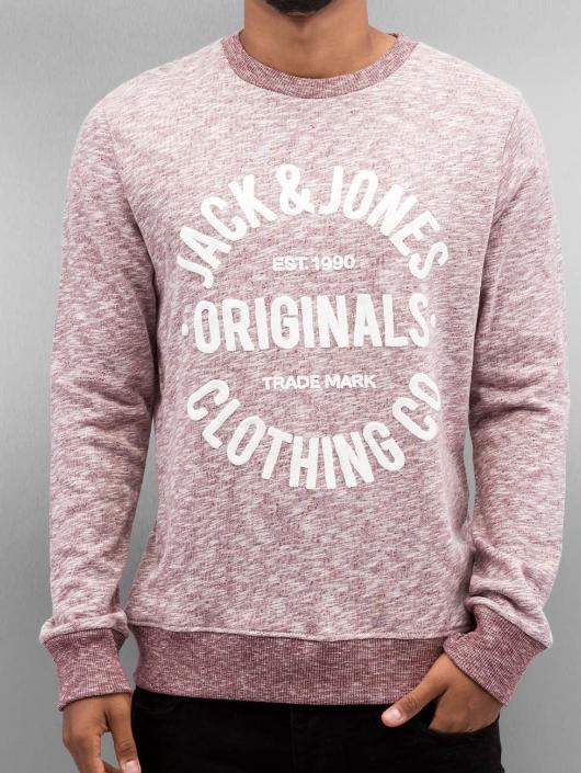 Jack & Jones Pullover jorClemens red