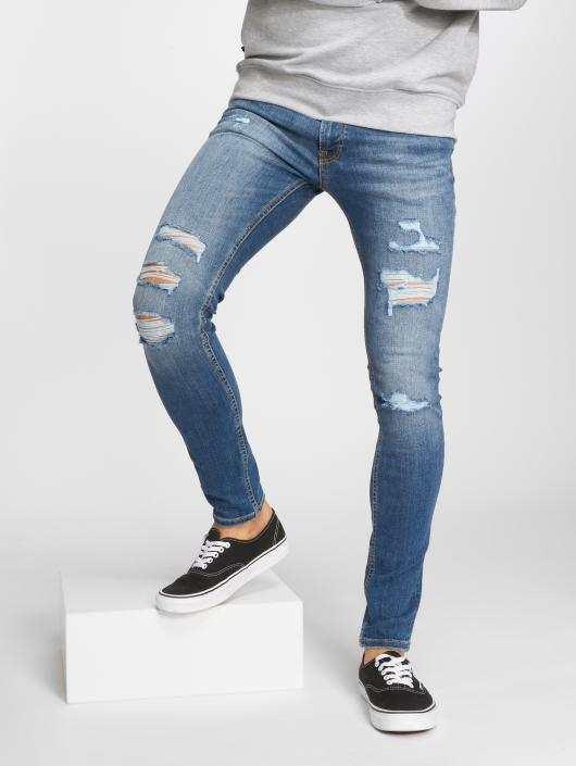 jack jones herren skinny jeans jjiliam in blau 505049. Black Bedroom Furniture Sets. Home Design Ideas