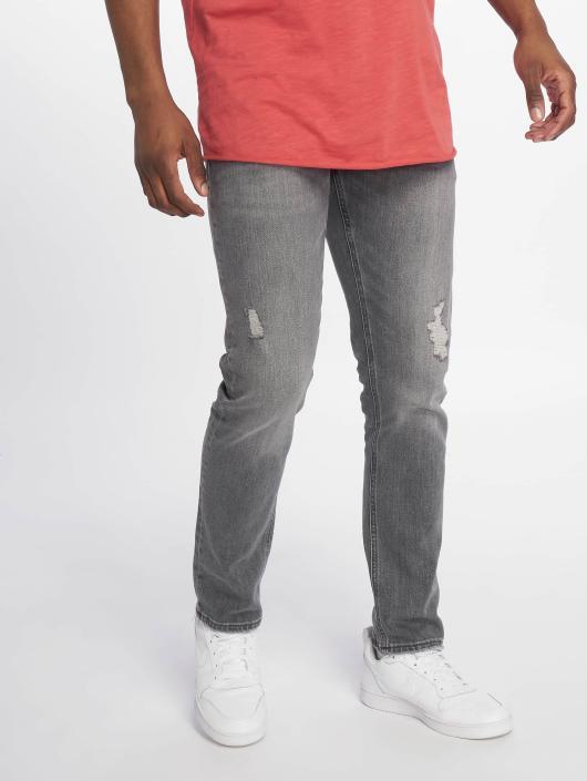Jack & Jones Slim Fit Jeans Jjiglenn Jjoriginal Am 767 šedá