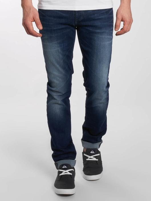 b1a20176ff1b07 Jack   Jones Herren Slim Fit Jeans jjiTim jjOriginal in blau 292887