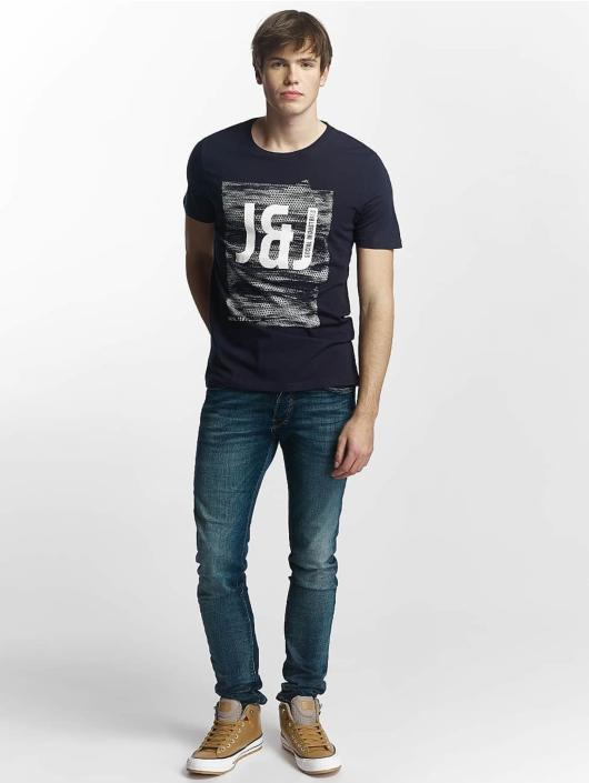 Jack & Jones Slim Fit Jeans jjiGlenn blauw