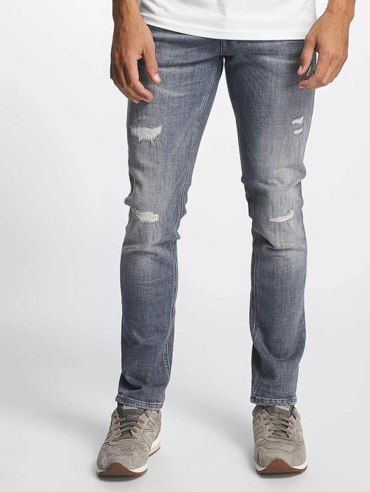 Jack & Jones Slim Fit Jeans jjiGlenn jjOriginal JJ 052 grau