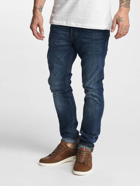 Jack & Jones Slim Fit Jeans jjGlenn Original AM 431 modrá