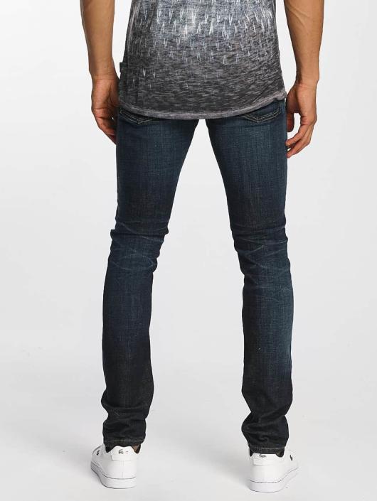 Jack & Jones Slim Fit Jeans jjGlenn Original JJ 022 modrá