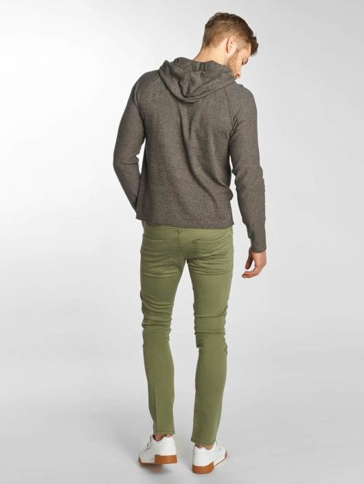 Jack & Jones Slim Fit Jeans jjiGlenn jjJaxx Biker oliven