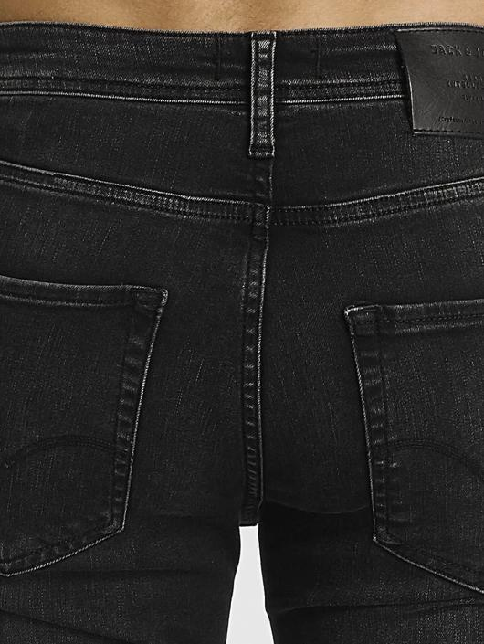Jack & Jones Slim Fit Jeans jjiTim jjOriginal zwart