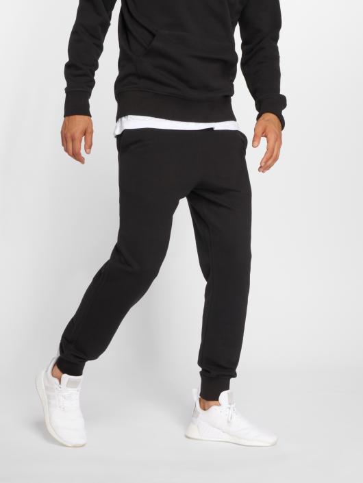Jack & Jones Spodnie do joggingu jjePique czarny