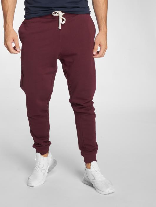 Jack & Jones Spodnie do joggingu jjeHolmen czerwony