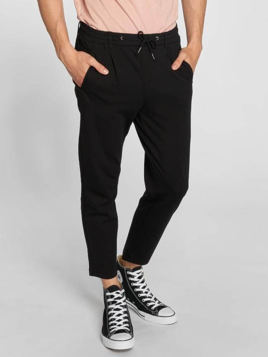Jack & Jones Spodnie wizytowe jjiVega jjTrash czarny