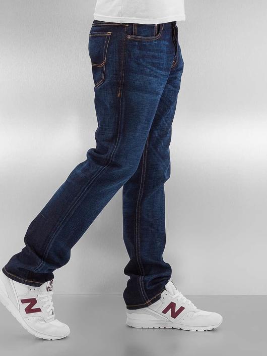 Jack & Jones Straight Fit Jeans jjiClark jjOriginal blå