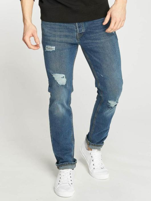 Jack & Jones Straight Fit Jeans jjiTim blau