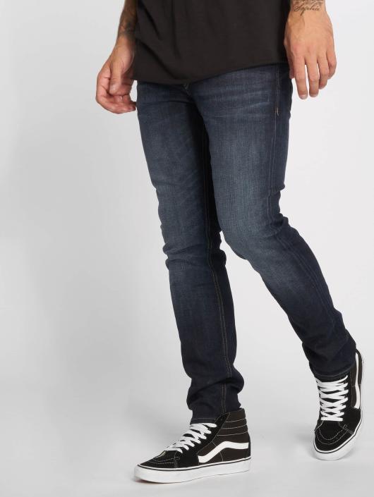 Jack & Jones Straight Fit Jeans jjiTim jjOriginal JOS 318 blau