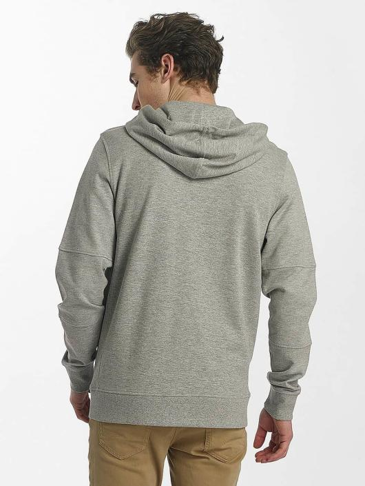 Jack & Jones Sweat capuche zippé jcoShaun gris