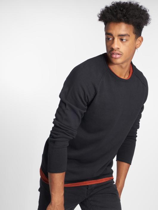 Jack & Jones Swetry jjeUnion Knit czarny
