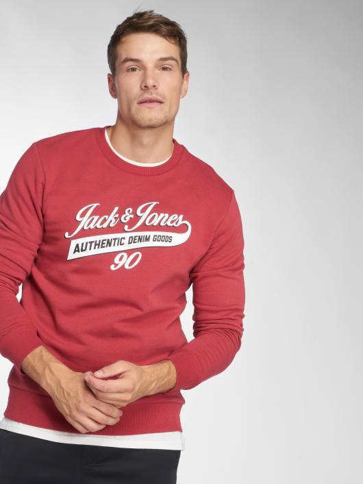 Jack & Jones Swetry jjeLogo czerwony