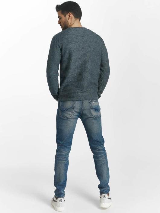 Jack & Jones Swetry jcoWind niebieski