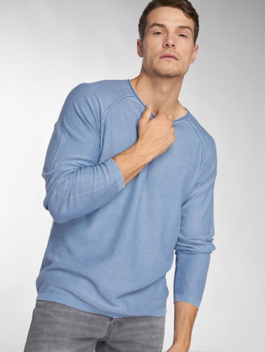 Jack & Jones Swetry jorUSE Knit niebieski