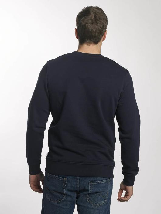 Jack & Jones Swetry jcoGeometric niebieski