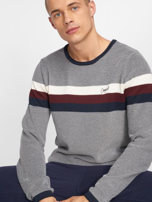 Jack & Jones Swetry Jorlabour szary