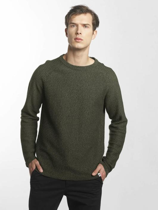 Jack & Jones Swetry jcoWind zielony