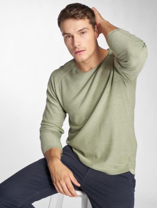 Jack & Jones Swetry jorUSE Knit zielony