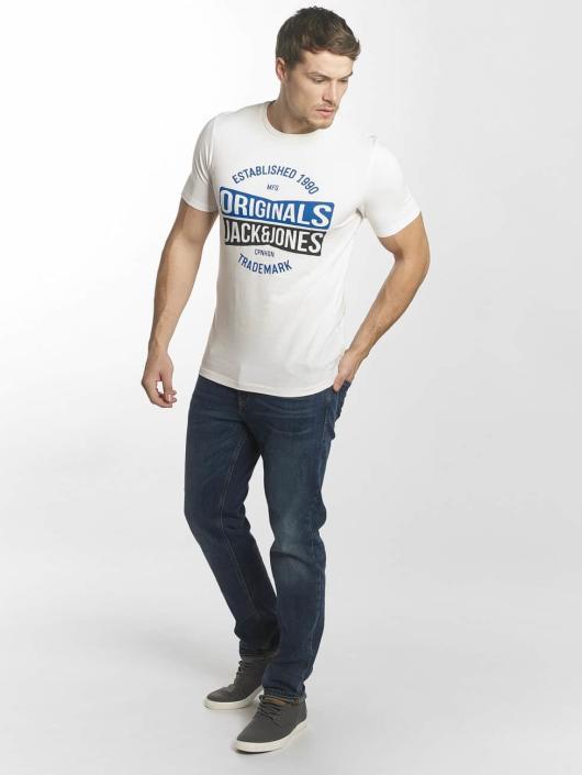 Jack & Jones T-Shirt jorMusai blanc