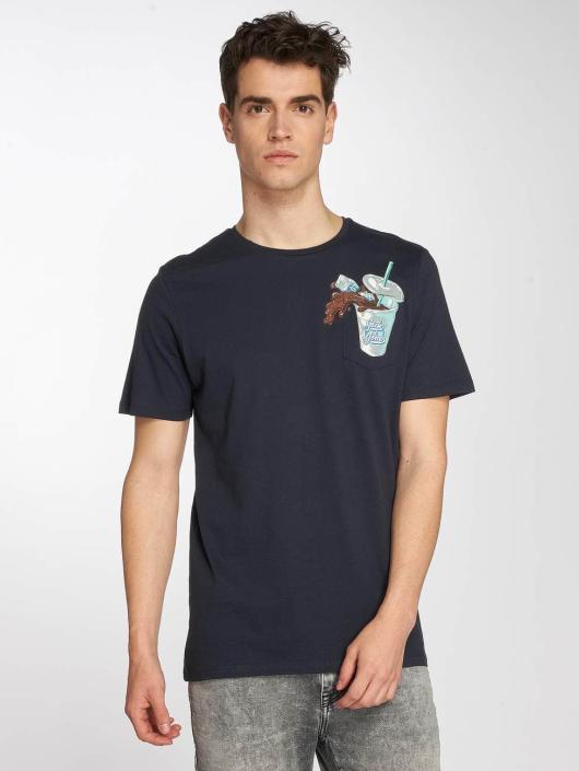 Jack & Jones T-Shirt jorCube blau