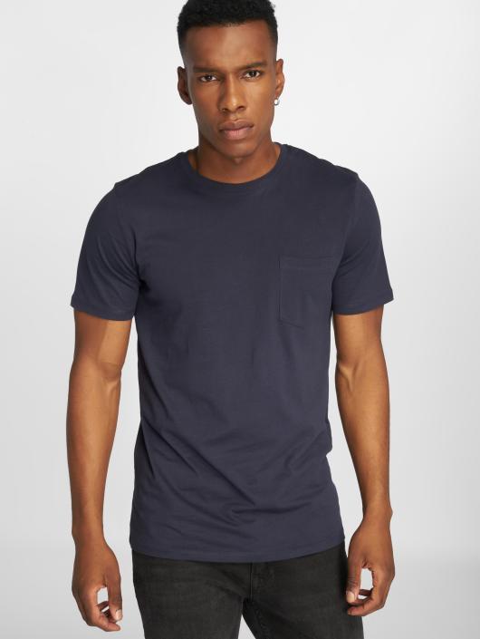 Jack & Jones T-Shirt jjePocket blau