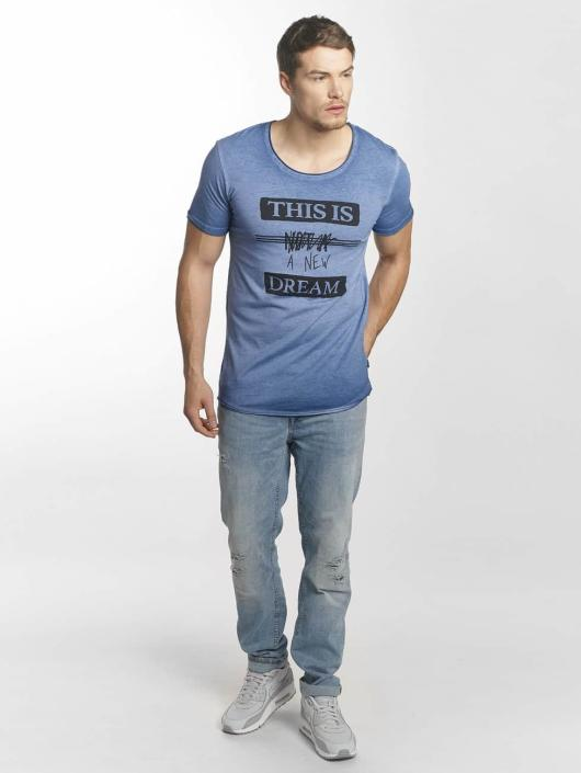 Jack & Jones t-shirt jorDrapper blauw