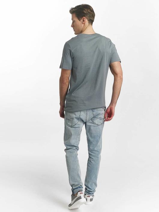 Jack & Jones T-Shirt jcoLine bleu