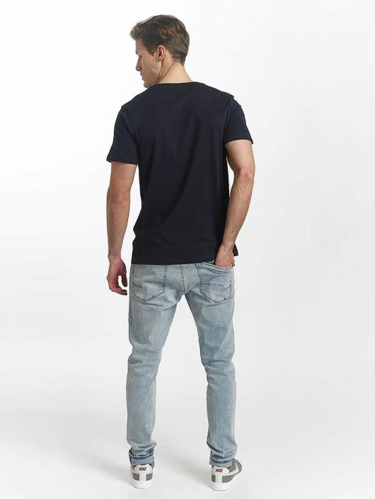 Jack & Jones T-Shirt jcoLine bleu