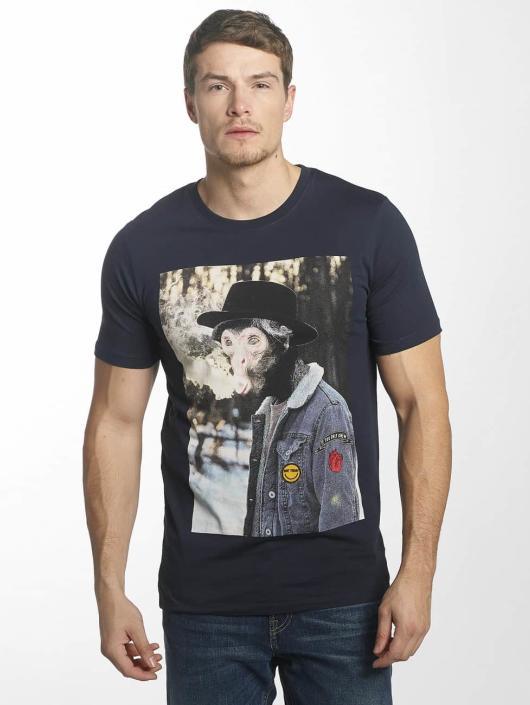 Jack & Jones T-Shirt jorHearty bleu