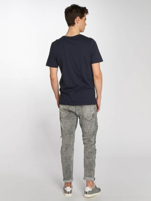 Jack & Jones T-Shirt jorCube blue