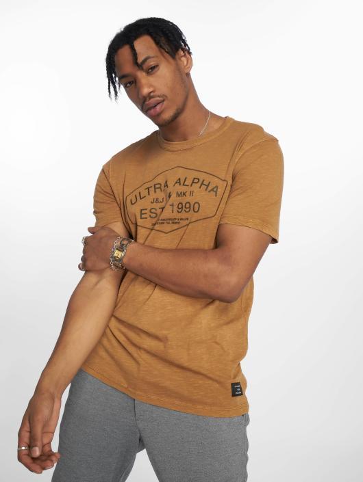 1db465e089afa Jack   Jones   jcoJasons brun Homme T-Shirt 532959