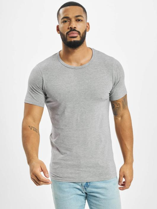 Jack & Jones T-Shirt Basic O-Neck grau