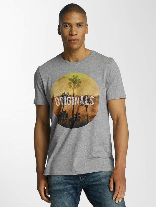 Jack & Jones T-Shirt jorCreek grau