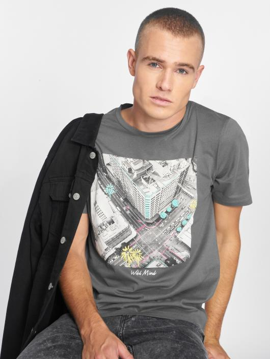 Jack & Jones T-Shirt jorRailroad gray