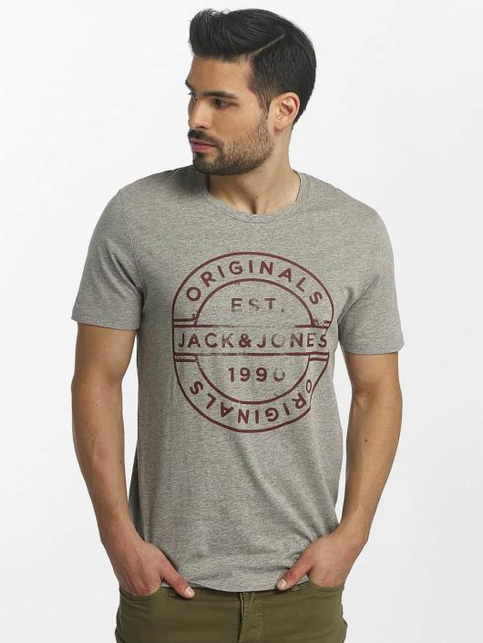 Jack & Jones T-Shirt jorSlack grey
