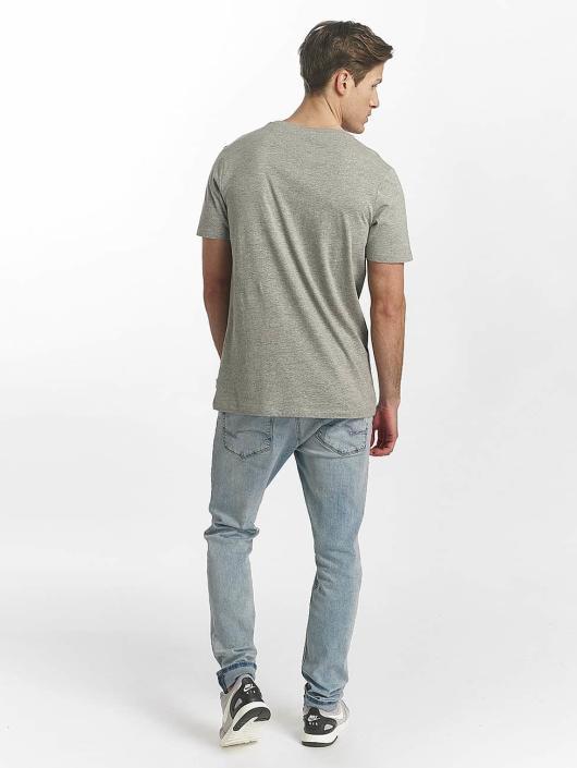 Jack & Jones T-Shirt jcoLine grey