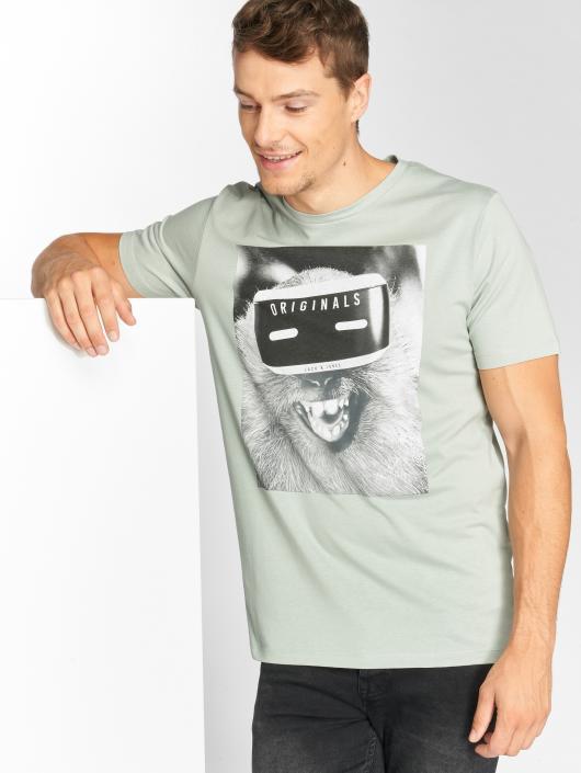Jack & Jones T-Shirt jorVirtual grün