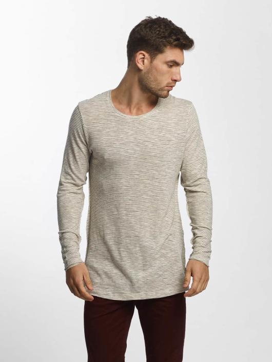 Jack & Jones T-Shirt manches longues JORLoose beige